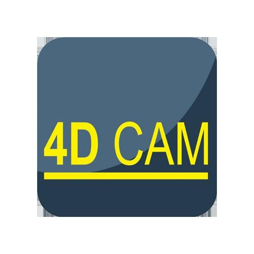 4D CAM logo