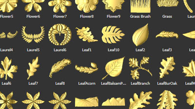 Carveco relief clipart library greenery section