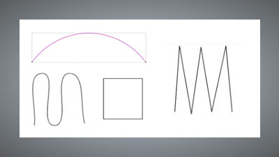 Different types of vector lines in Carveco