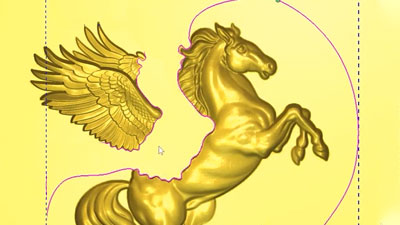 Using vectors to trim the wings off a pegasus
