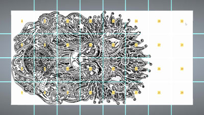 Panel or Tiled Toolpaths