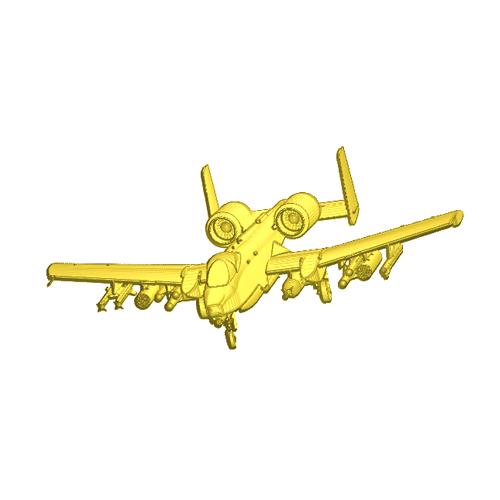 Tomcat fighter plane relief model
