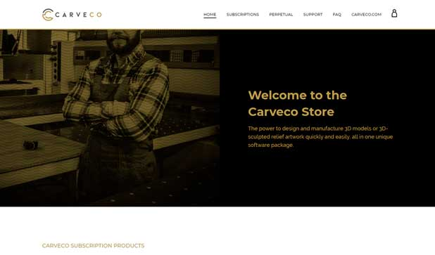 Carveco online store